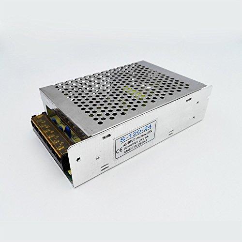 LED Netzteil Schaltnetzteil DC 24V 5A 120W Trafo Adapter IP20 Driver Transformator Netzgerät für LED Leiste Stripe Streifen