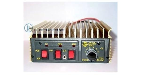 Zetagi B501p B 501 P Amplificatore Lineare Con Pre Amp 24 V Amazon