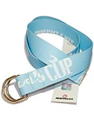 Murphy & nye–Canvas Cinturón 32nd America 's Cup, azul claro, 110 cm