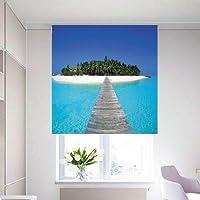 3D Roller Curtain MALDIVES 150 * 200 cm, HKS0027