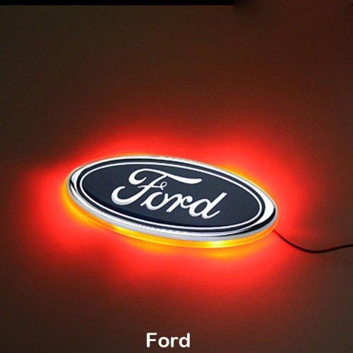 CAR244-LED-Heckleuchte mit Ford-Logo, Weiß, von Generic.