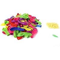 WXCL 500Pcs Colore per Bambini Pallanuoto Giocattolo Palloncino ad acqua Riempimento rapido Magia Pallanuoto Giocattolo per Feste, Multi, CINA