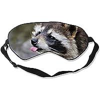 Tier-Waschbär Schlafmaske für Reisen und Zuhause, niedlicher Schattier-Eyeshade preisvergleich bei billige-tabletten.eu