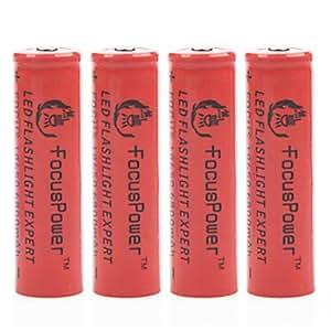 TL puissance accent 4.2v 6800mAh 18650 batterie au lithium-ion rechargeable (4pcs)