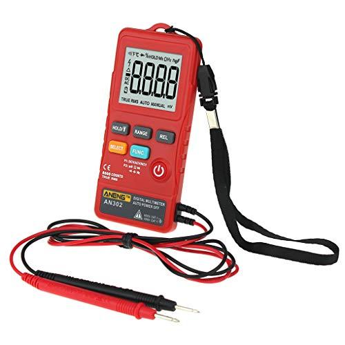 Floridivy Aneng AN302 Digital-Multimeter True RMS Multimeter 8000 Counts AC DC Voltmeter Spannung Frequenz Meter LED-Licht Wireless-true Rms Multimeter