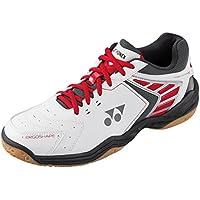Yonex, Scarpe da Badminton uomo Bianco / Rosso 9.5