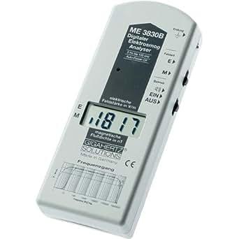 Gigahertz Solutions ME 3830B Basse fréquence (BF)Appareil d'analyse, appareil de mesure de la po