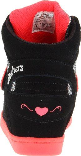 Skechers Hydee Plus 280198L, Sneaker ragazza Nero (Schwarz (BKNP))