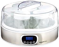 AmazonBasics - Joghurtbereiter mit Timer und 7 Gläsern
