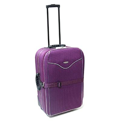 Karabar Cabin Approved 21 Inch Super Lightweight Suitcase 55 x 40 x 20 cm all parts included