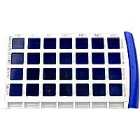 Schnäppchenladen24 24x Pillendose Tablettenschachtel Medikamentenbox 7 Tage 4 Tageszeiten 28 Fächer preisvergleich bei billige-tabletten.eu