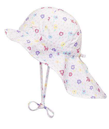 Rose Baby Hut (Döll Baby-Mädchen Nackenschutz Sonnenhut, Rosa (Pink Lady|Rose 2720), 47)