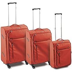 Roncato Ciak Juego de maletas, CHILLI RED (Rojo) - 42.51.89
