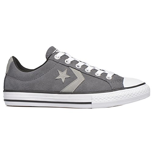 Converse Kids Star Player EV Ox Suede Trainers Thunder Cloud