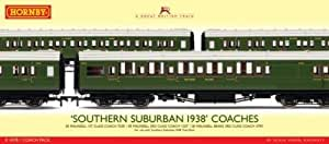 Hornby - R4378 - Southern Suburban 1938 Coach Pack