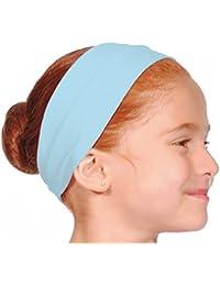 Roch Valley Mädchen Ballett-Stirnband, erhältlich in den Farben Pink / Blau / Weiß / Maulbeere / Marineblau / Lila / Lavendel / Schwarz