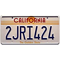 The Fast and the Furious | 2JRI424 | Stamped License Plate