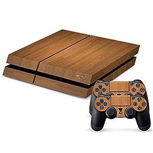 Gaminger Playstation 4 Designfolie für Konsole + 2 Controller Struktur Sticker Skin Set …