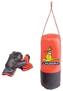 Hudora Joey Set de boxe Noir/Rouge 400 g