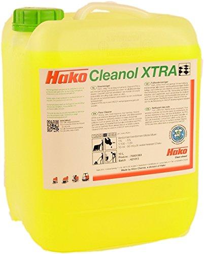 Hako 99731220 Cleanol XTRA Reiniger, 352 fl. oz, Gelb