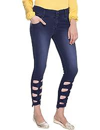 Broadstar Women Denim Blue Jeans
