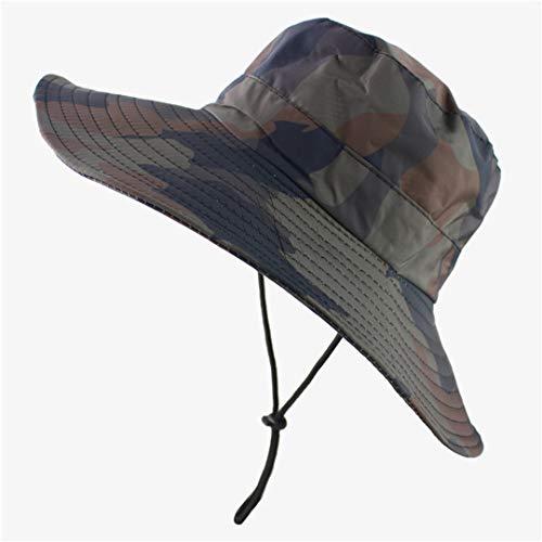 HAIRJDSR wasserdichte Taktische Airsoft Sniper Camouflage Hüte Faltbare nepalesische Kappe Militares Army Mens Bucket Hat Military Wandern Camo -