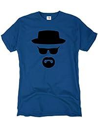 GIOVANI & RICCHI Herren Bad T-Shirt heisenberg Breaking tv serie walter meth white crystal