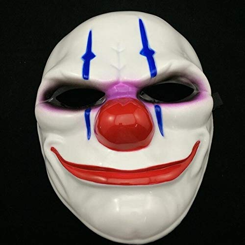 Party Masken Überfall Dallas Wolf Ketten Hoxton Party Cosplay Halloween Horror Maskerade Maske, 2 ()