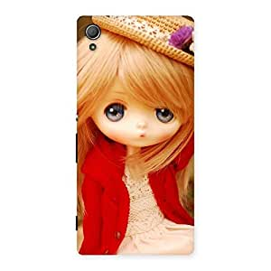 Gorgeous Angel Wearing Hat Multicolor Back Case Cover for Xperia Z3 Plus