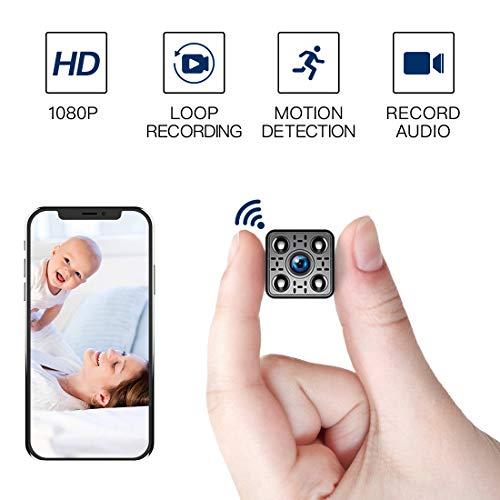 FREDI HD1080P WIFI telecamera Spia videocamera nascosta Microcamera Wireless Mini Camera spia microtelecamera wifi Hidden Spy Cam Videocamera di sorveglianza Interno IP telecamera di sorveglianz