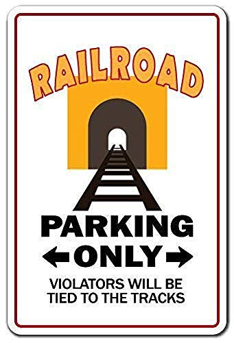 Shimeier Railroad Conductor Engineer Rwu Union Pacific Workers Train Warning Retro Vintage Tin Sign Coffee House Business Dining Room Pub Beer 20 cm x 30 cm -