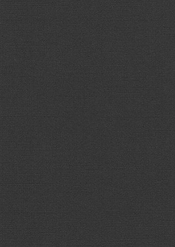 Pavo - costa per rilegatura, in carta telata, formato a4, confezione da 100, colore: nero