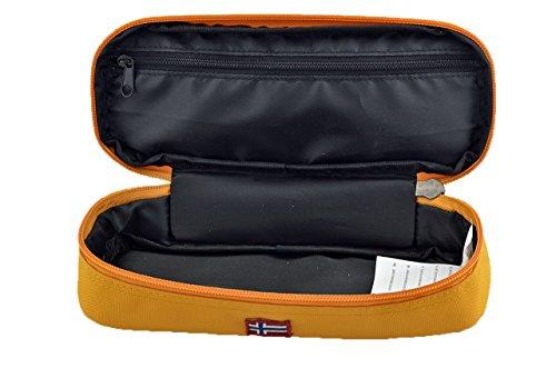 Napapijri Pencil Case Borse Nuovo Taglia Unica A. Arancione