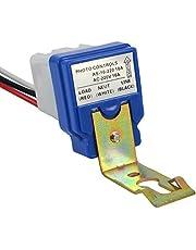 Sisah Plastic 220 V Auto Day/Night on/off Photocell LDR Sensor Switch (White)