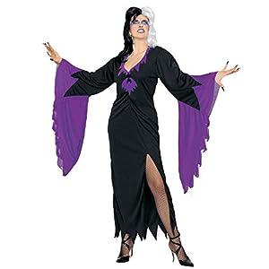 widmann-wdm4218m disfraz Adulto para hombre, Violeta Negro, wdm4218m