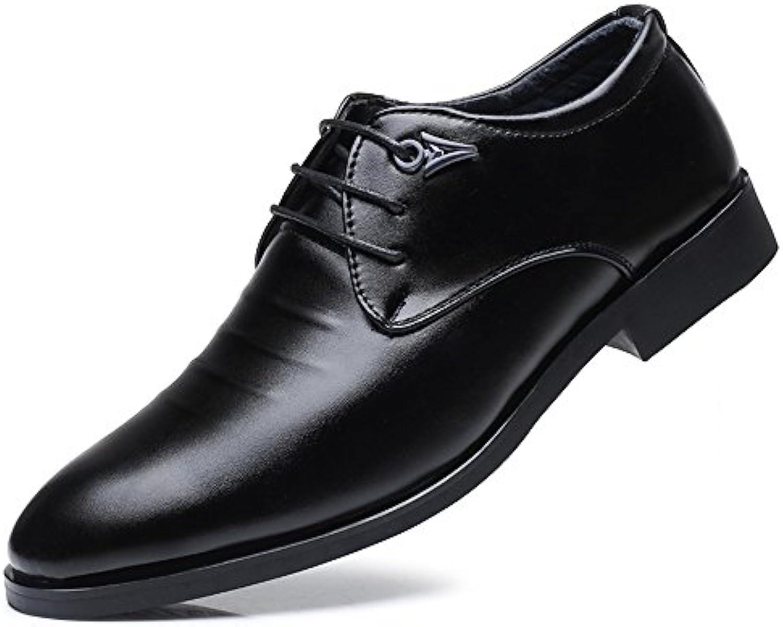 Xujw-scarpe, 2018 Scarpe Stringate Basse Scarpe da uomo uomo uomo casual Business Oxfords Block Heel Lace Up Leisure Super...   Apparenza Estetica    Scolaro/Ragazze Scarpa  d20be9