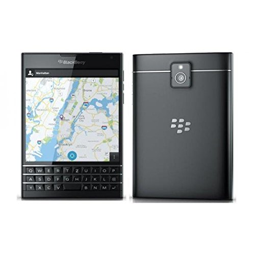 Smartphone Blackberry Passport 32 GB, Noir, Clavier QWERTZ