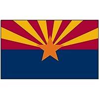Arizona 0,91 Meters x 1,52 Meters-Cuscino in poliestere con stampa bandiera 3 x 5, 3 x 5 x 5 Striscione 3, 3 x