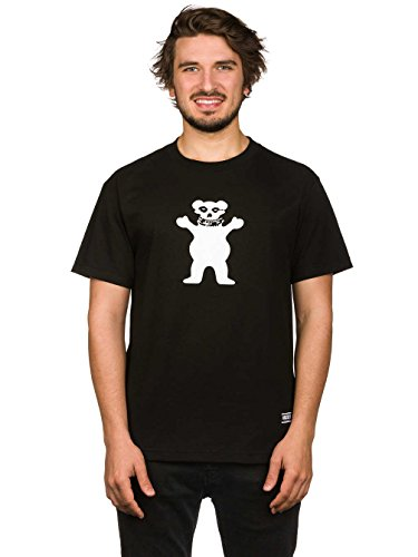 Herren T-Shirt Grizzly Fiend Club OG T-Shirt Black