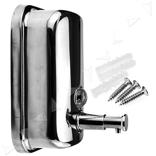 Preisvergleich Produktbild Generic dyhp-a10-code-4804-class-1 – Stahl Wand montiert ED Action Edelstahl Ess S 500 ml Badezimmer R Pumpe Seife / Shampoo Autoaufkleber / S Spender Pumpe WE – -dyhp-uk10–160819–2768
