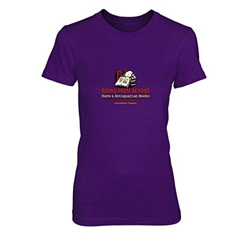 Books from Beyond - Damen T-Shirt, Größe: XL, Farbe: (Der Kostüm Finsternis Armee Ash)