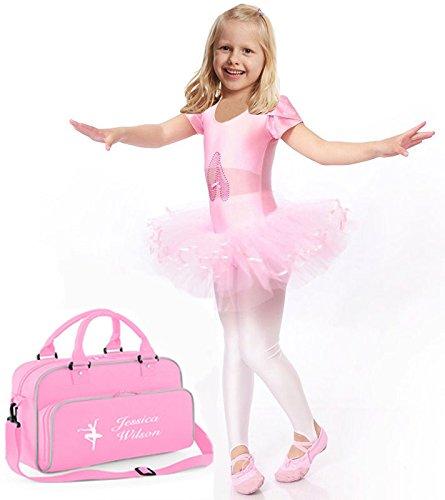 Bolso Personalizado Para Baile Y Gimnasia | Bolso Infantil Personalizado | Bolso De Deporte Personalizable Nombre Y Apellido