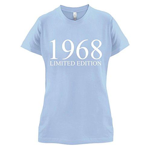 1968 Limierte Auflage / Limited Edition - 49. Geburtstag - Damen T-Shirt - 14 Farben Himmelblau