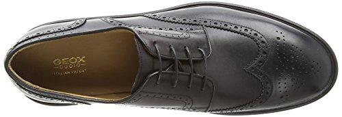 Geox Guildford, Mocassins Homme Ivoire (Black)