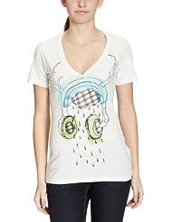 Vans Damen T-Shirt Nicole Sharp Headphones
