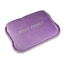 MACOM Enjoy & Relax 920 Boule Pocket Ultramorbida Ricaricabile Senza Filo con Tasca per Le Mani, Lilla