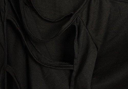 DOKOTOO - Chemisier - Manches Longues - Femme Noir - Noir