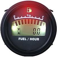 runleader rl-fm001LCD Fuel Level Gauge DC alimentazione per Moto Jet Ski Marino Pit Bike Moto Generatore motore
