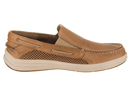 Sperry Mens Gamefish Slip On Boat Shoe Linen