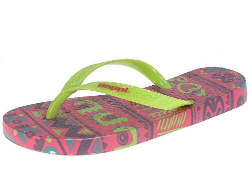 Beppi Mädchen Strandschuhe Zehentrenner Badeschuhe 2149970, hellgrün, 33